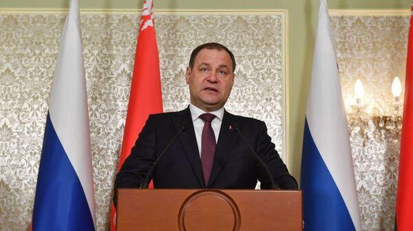 Роман Головченко на Совете министров Союзного государства - Sputnik Беларусь