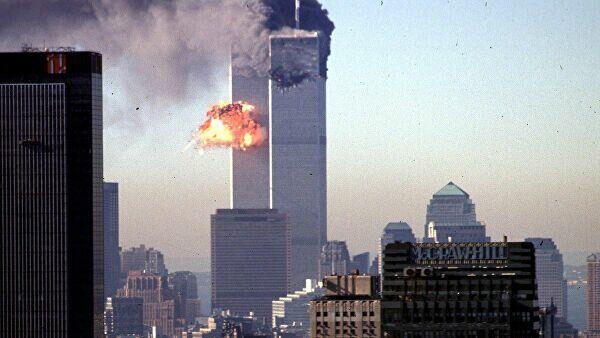 Теракт в Нью-Йорке 11 сентября: архивные кадры – видео   - Sputnik Беларусь