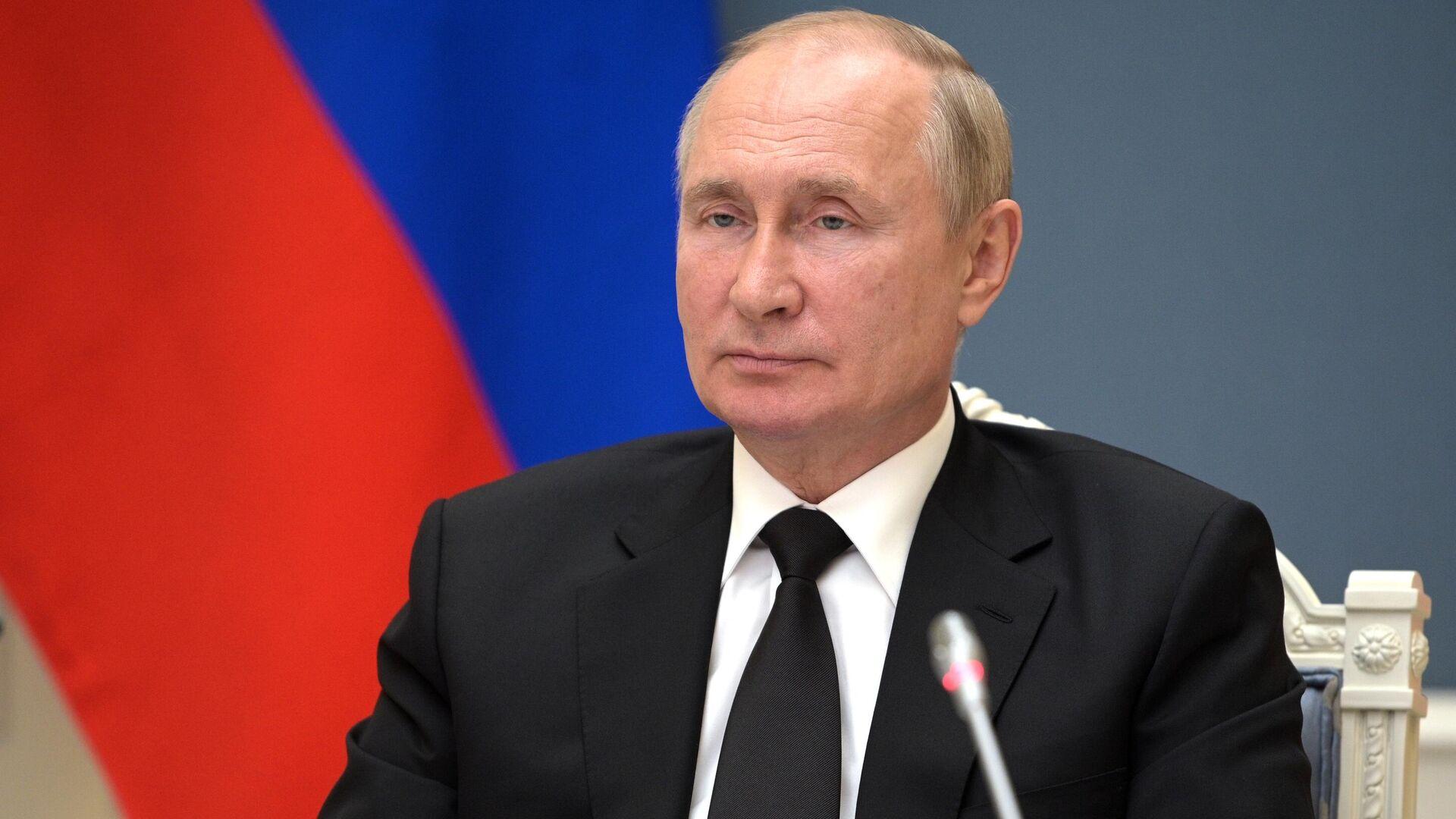 Президент РФ Владимир Путин - Sputnik Беларусь, 1920, 13.10.2021