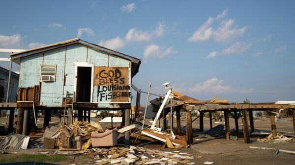 Последствие урагана в США, архивное фото - Sputnik Беларусь