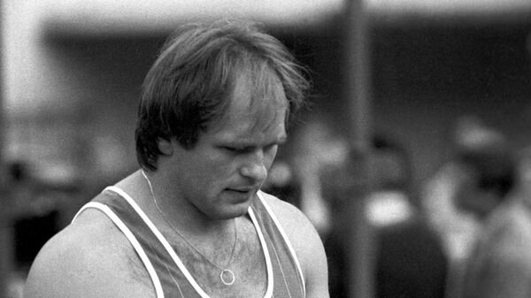 Двукратный олимпийский чемпион в метании молота Юрий Седых - Sputnik Беларусь