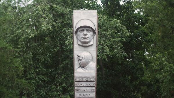 Памятник Освобождения в Бресте подростки превратили в скейт-парк – видео  - Sputnik Беларусь