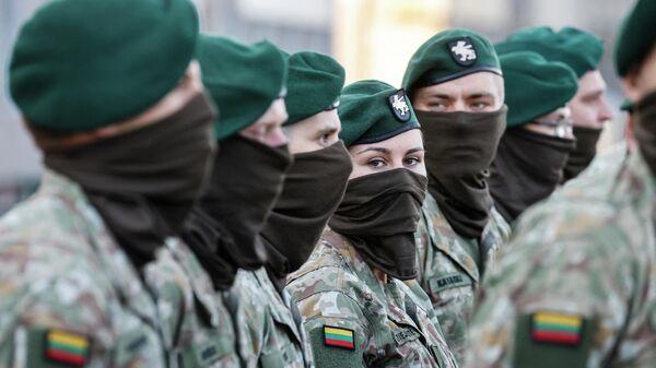 Военнослужащие литовской армии - Sputnik Беларусь