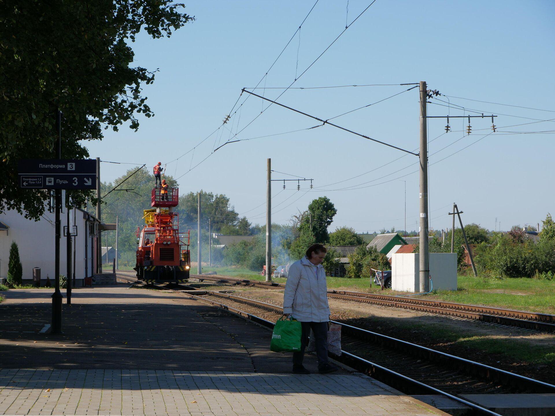 Сейчас Негорелое - тихая станция, каких сотни в Беларуси - Sputnik Беларусь, 1920, 16.09.2021