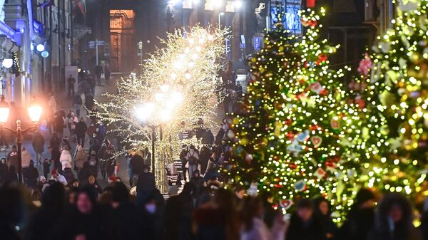 Москва в преддверии Нового года - Sputnik Беларусь