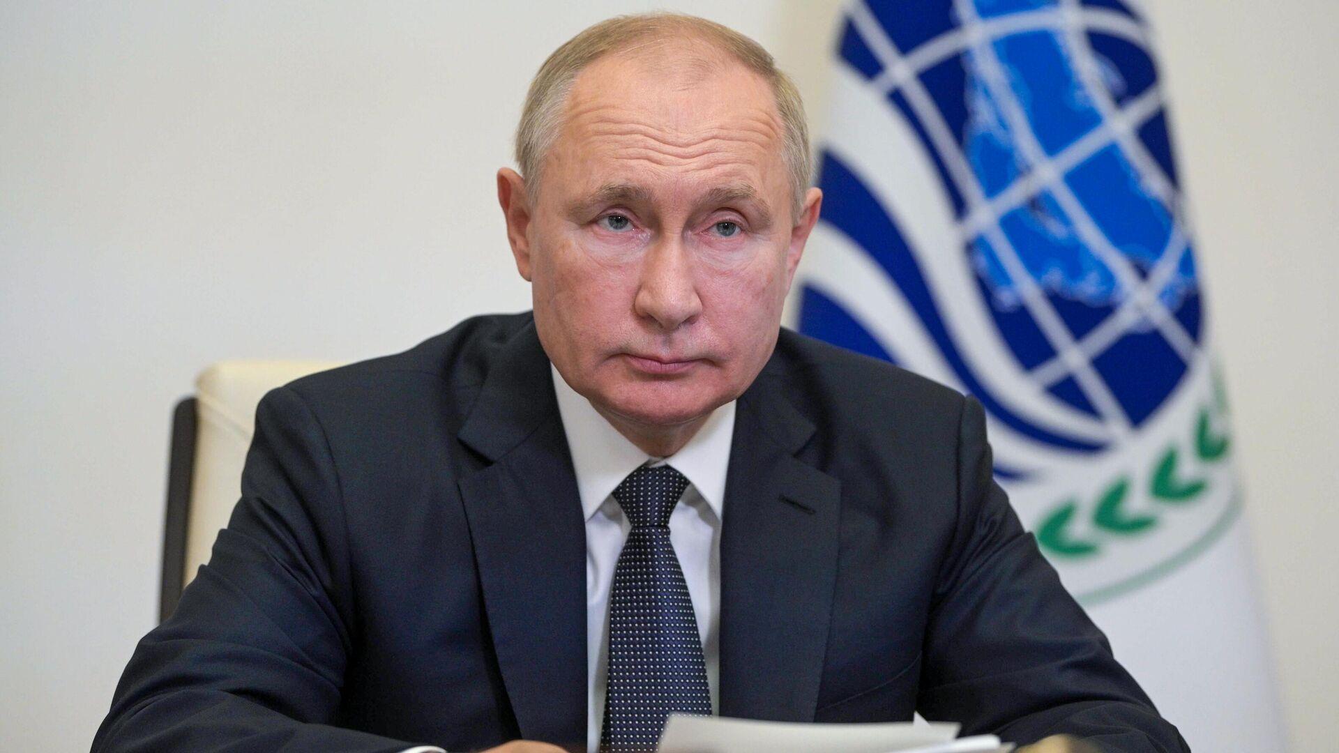 Президент РФ Владимир Путин - Sputnik Беларусь, 1920, 17.09.2021