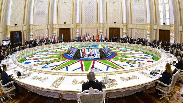 Заседание участников саммита ШОС - Sputnik Беларусь