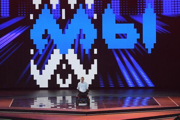 Паралимпиец, бизнесмен, общественный деятель, мотивационный тренер Алексей Талай выступил на форуме в Минск-Арене - Sputnik Беларусь