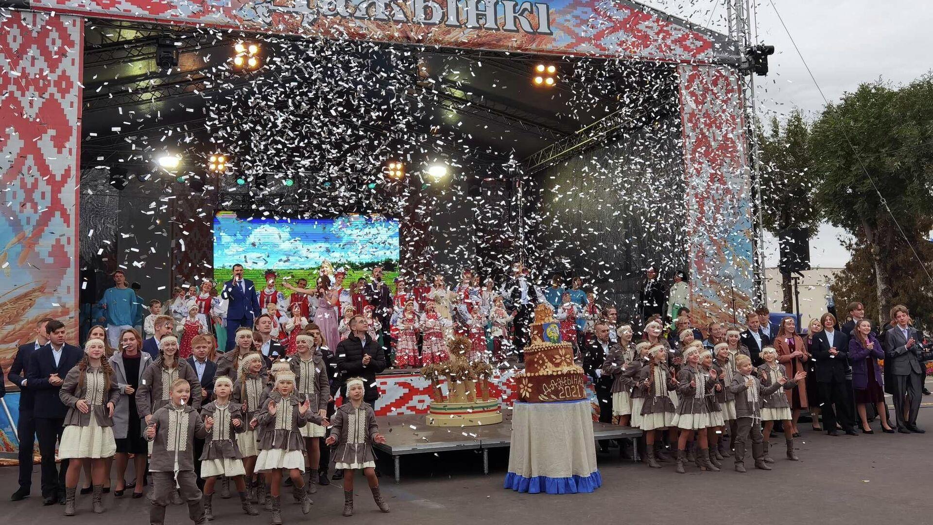Дожинки-2021 в Шумилино - Sputnik Беларусь, 1920, 19.09.2021