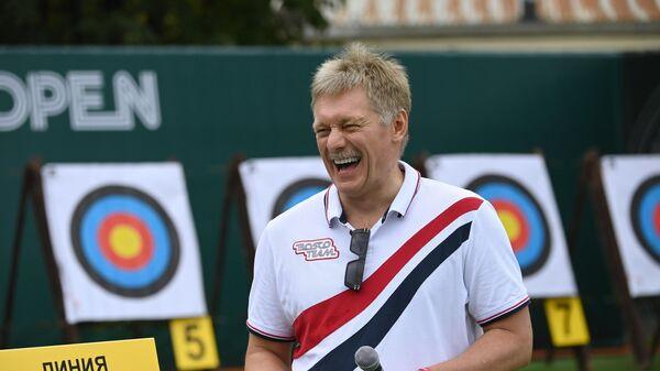 Пресс-секретарь президента РФ Дмитрий Песков на благотворительном теннисном турнире Bosco Friends Open в Москве - Sputnik Беларусь