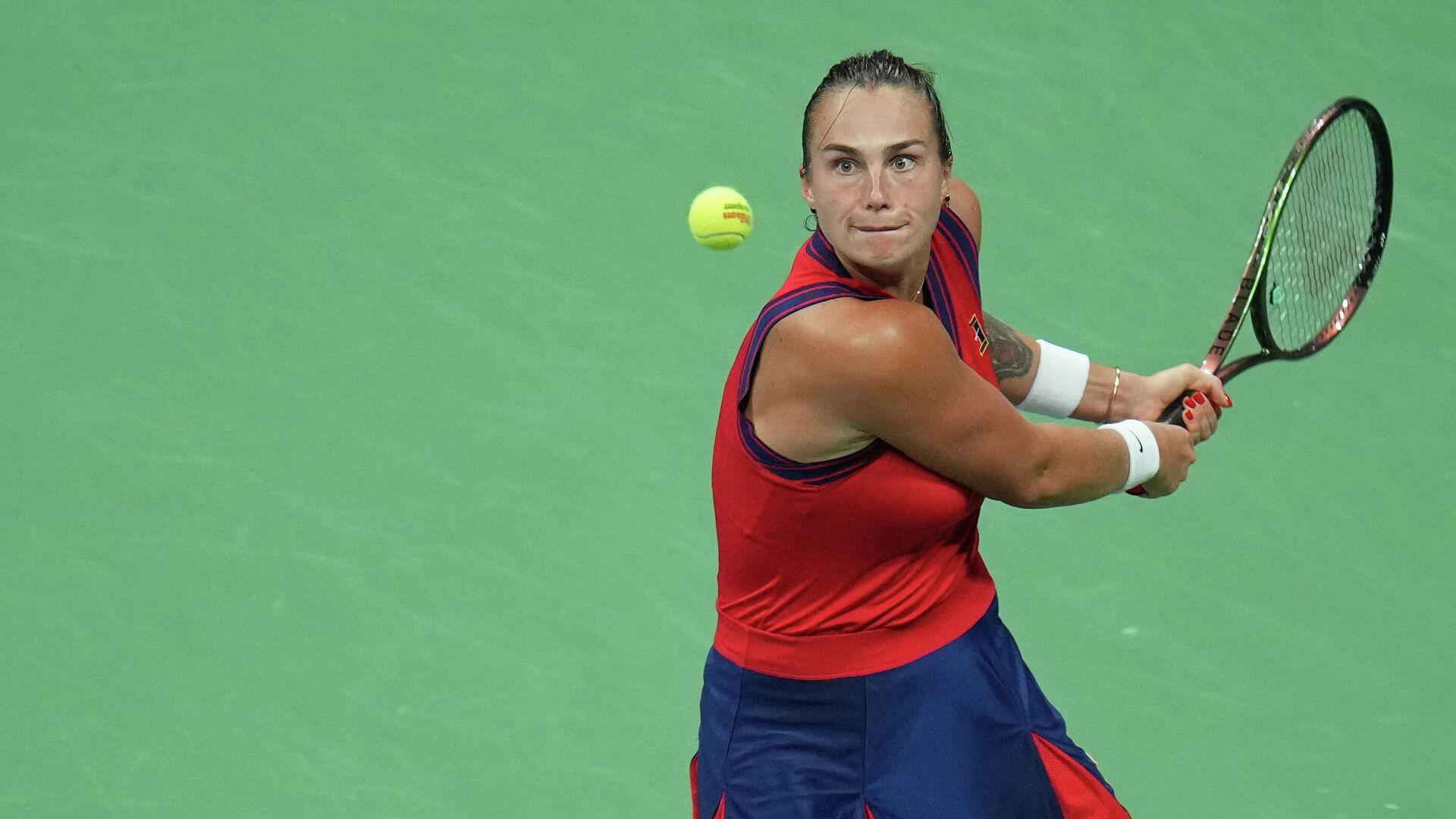 Белорусская теннисистка Арина Соболенко - Sputnik Беларусь, 1920, 20.09.2021