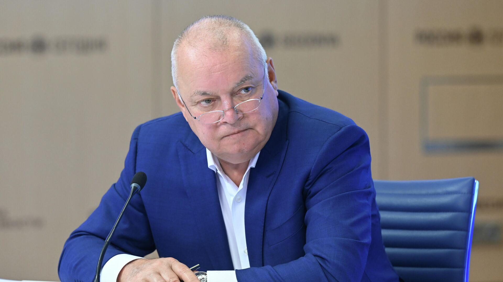 Генеральный директор МИА Россия сегодня Дмитрий Киселев  - Sputnik Беларусь, 1920, 20.09.2021