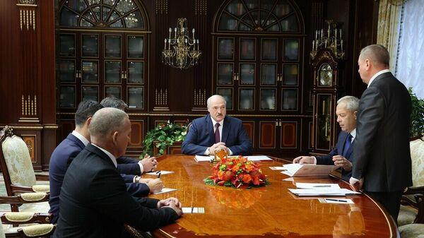 Кадравы панядзелак у Лукашэнкі - Sputnik Беларусь