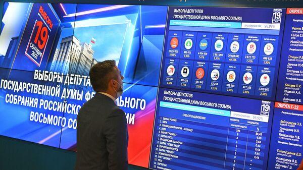 Выборы в Госдуму - внешнеполитическая победа России - Sputnik Беларусь