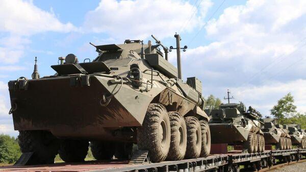 Российские военные покинули Беларусь - Sputnik Беларусь