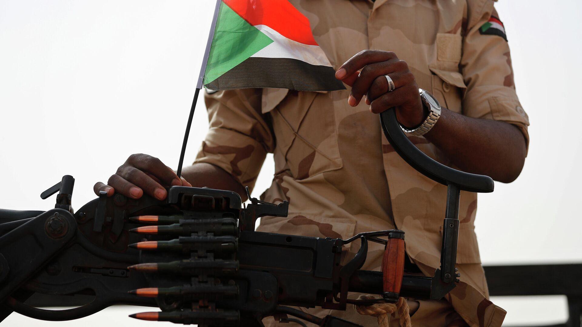 Армия Судана заявила о предотвращении попытки переворота в стране - Sputnik Беларусь, 1920, 21.09.2021