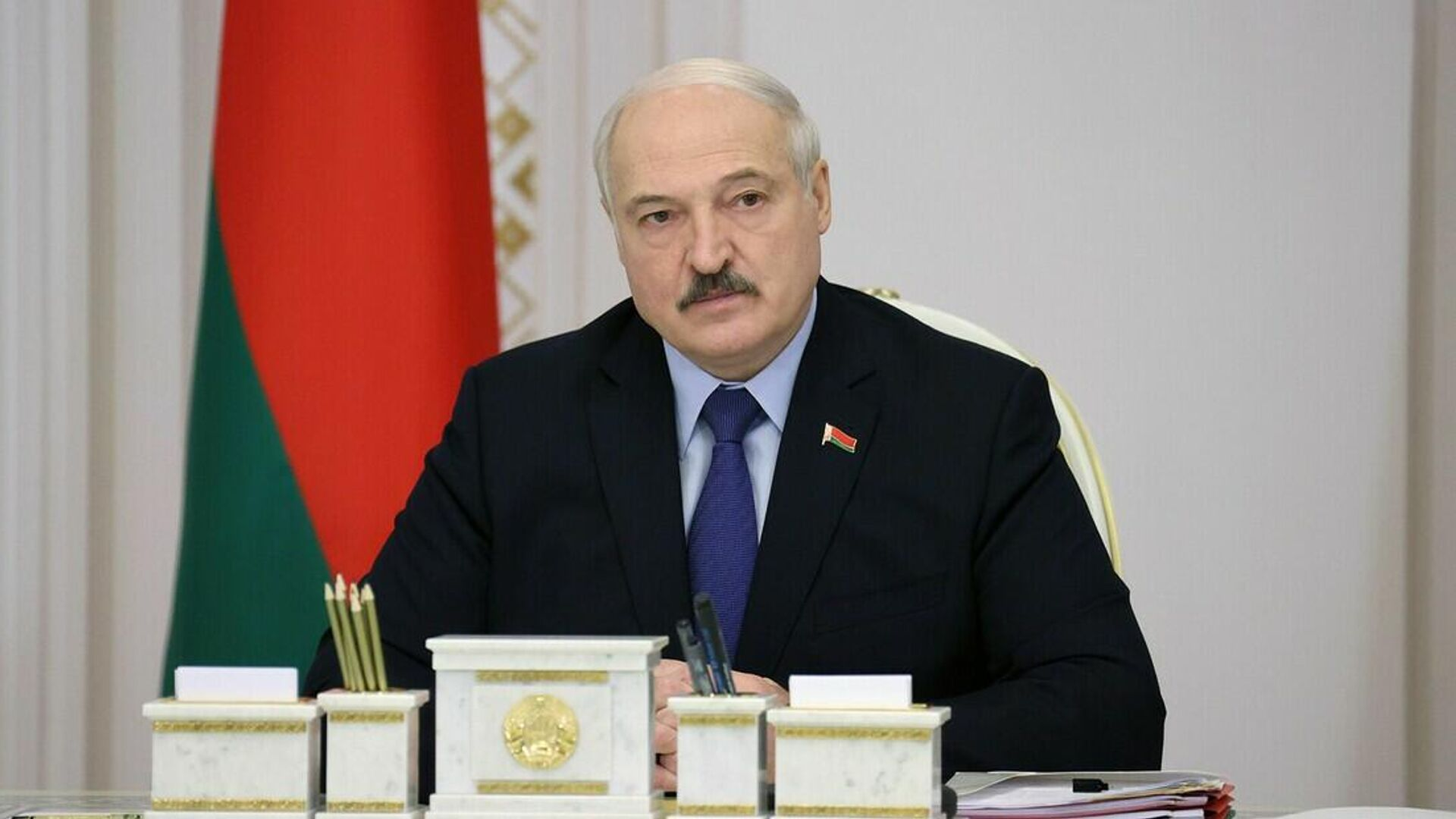 Александр Лукашенко на совещании с руководством Совета Министров - Sputnik Беларусь, 1920, 21.09.2021