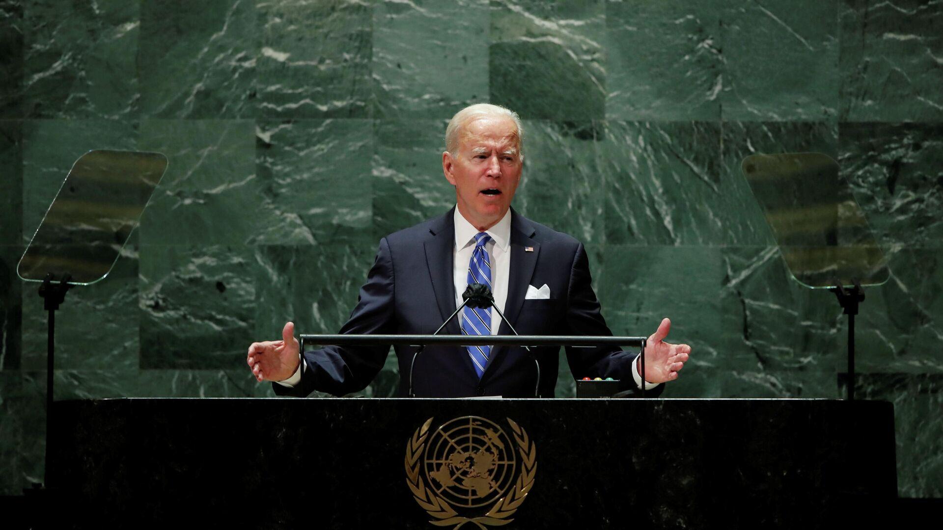 Президент США Джо Байден - Sputnik Беларусь, 1920, 21.09.2021