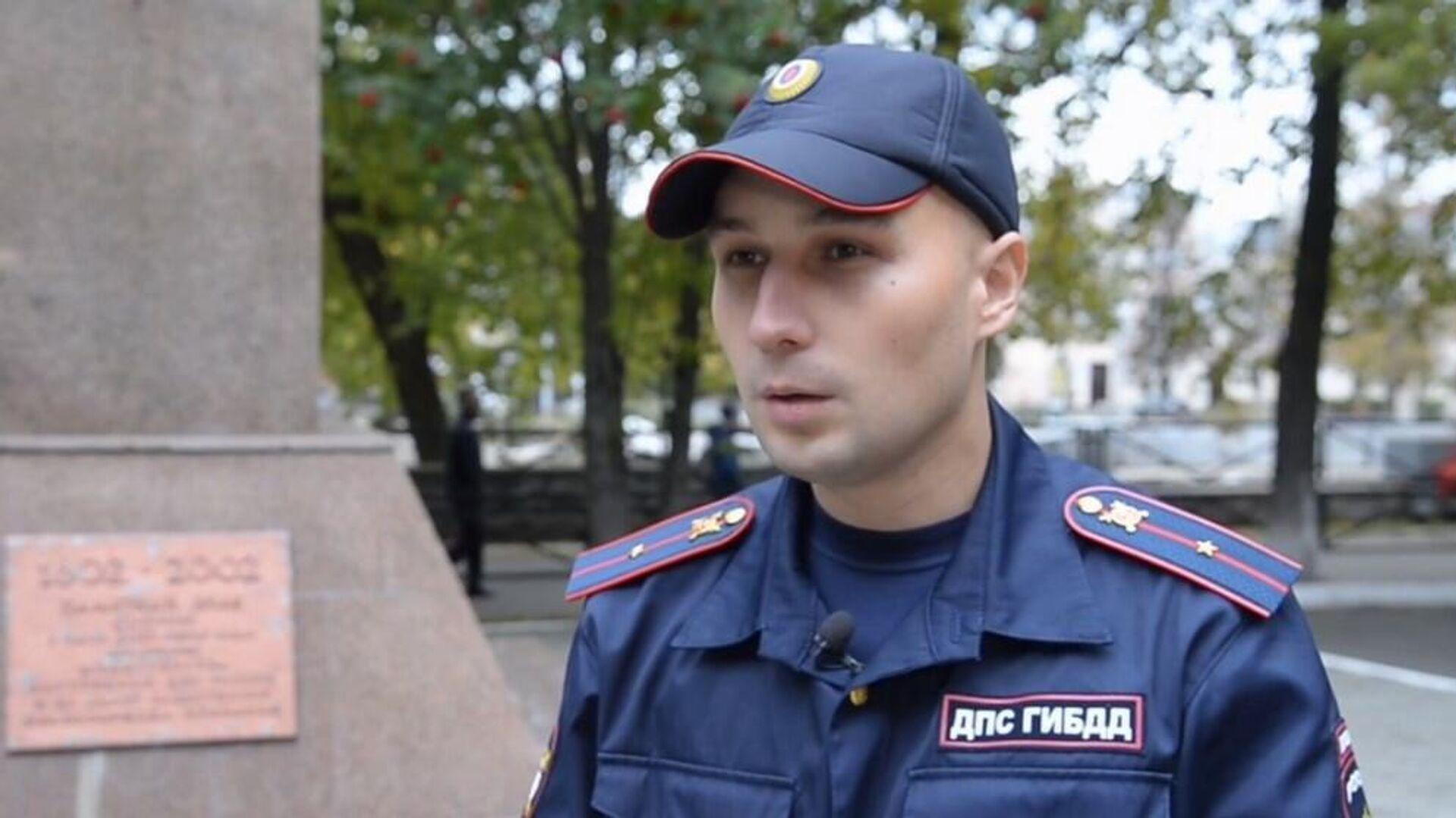 Младший лейтенант Константин Калинин - Sputnik Беларусь, 1920, 22.09.2021