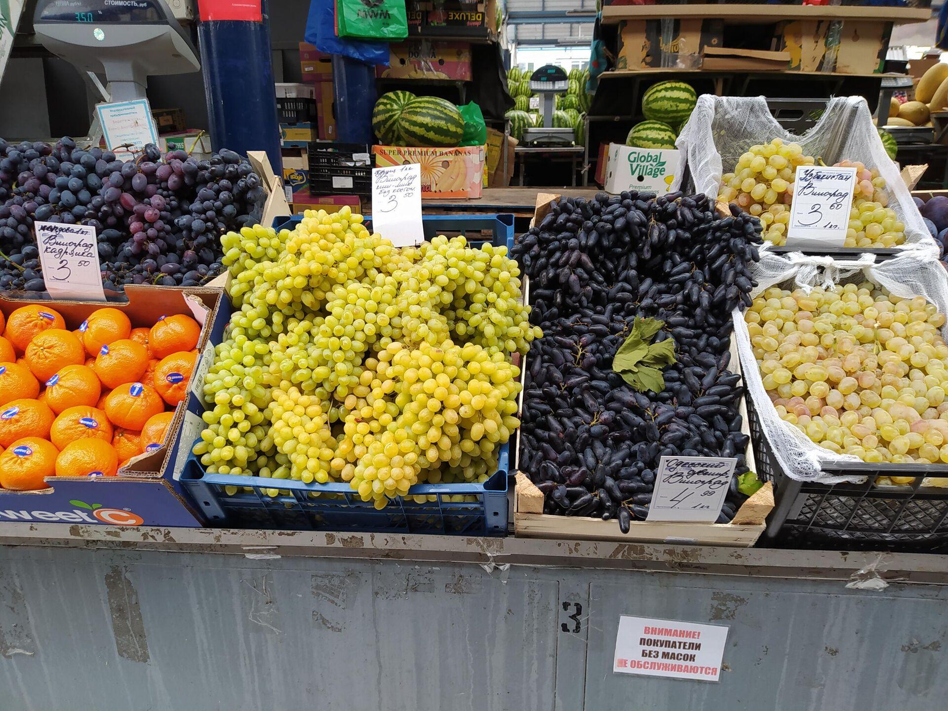 Килограмм винограда в среднем обойдется в 4 рубля  - Sputnik Беларусь, 1920, 23.09.2021