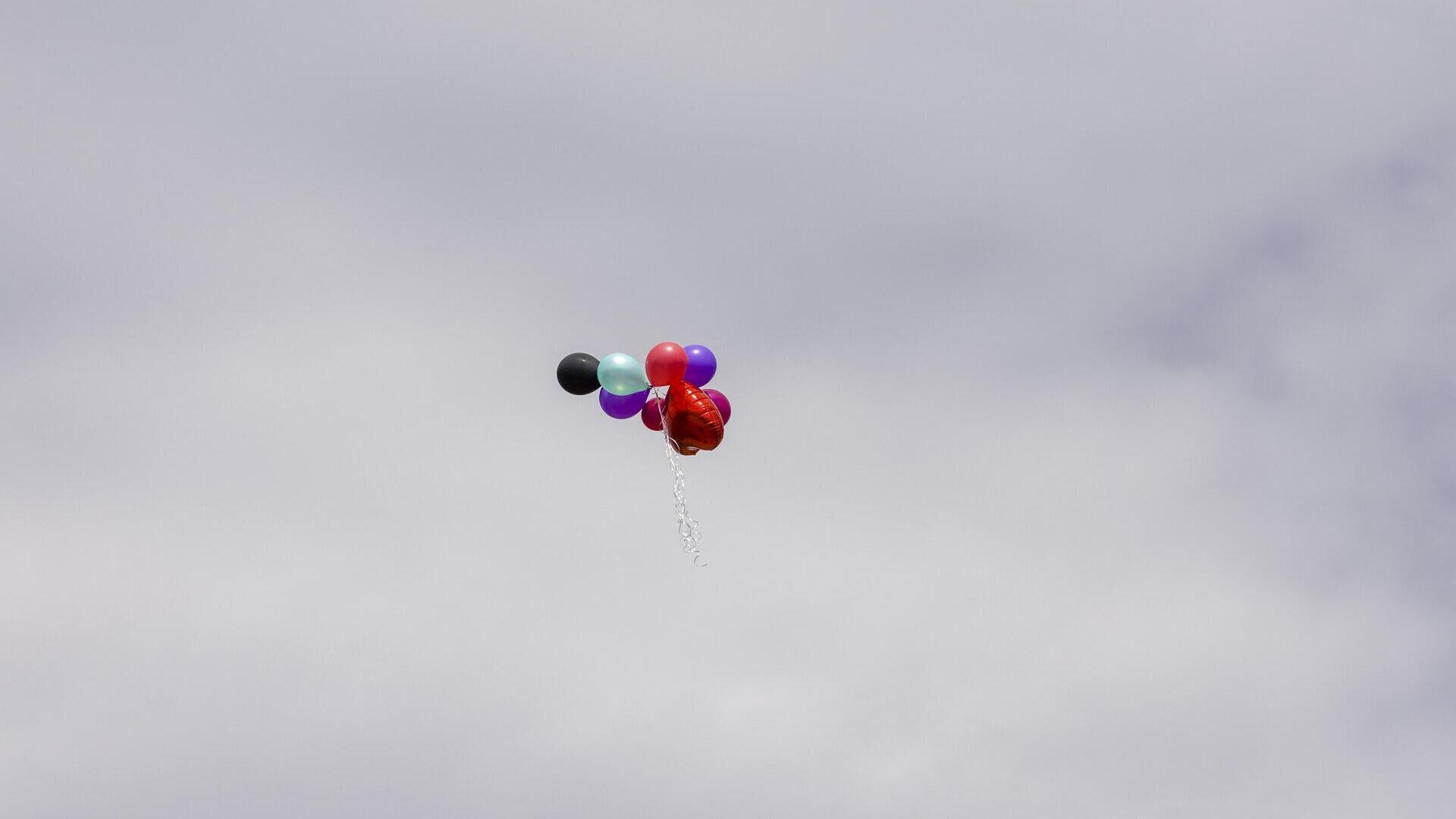 Воздушные шары в небе, архивное фото - Sputnik Беларусь, 1920, 23.09.2021