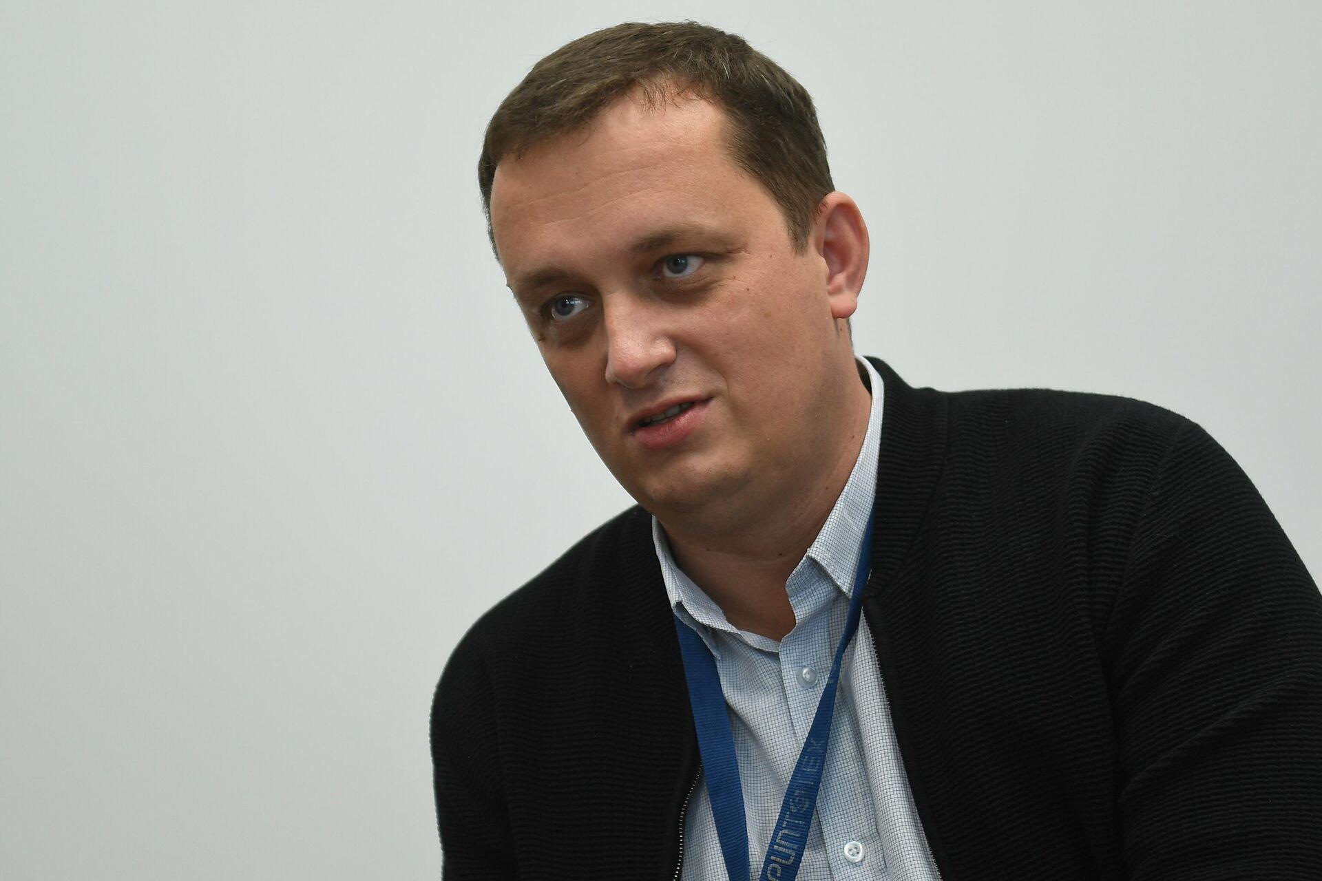 Заместитель директора РУП Криптотех Владимир Струев - Sputnik Беларусь, 1920, 24.09.2021