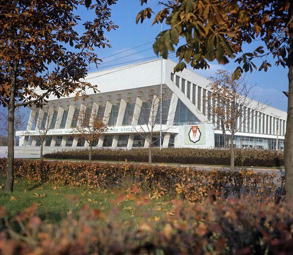 Палац спорту ў горадзе Мінску, 1971 год. - Sputnik Беларусь