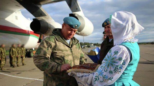 Беларускія ваенныя вярнуліся з вучэння ШАС - Sputnik Беларусь