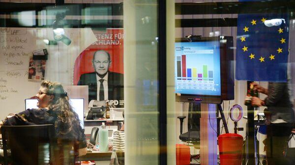 Выборы в Бундестаг - Sputnik Беларусь