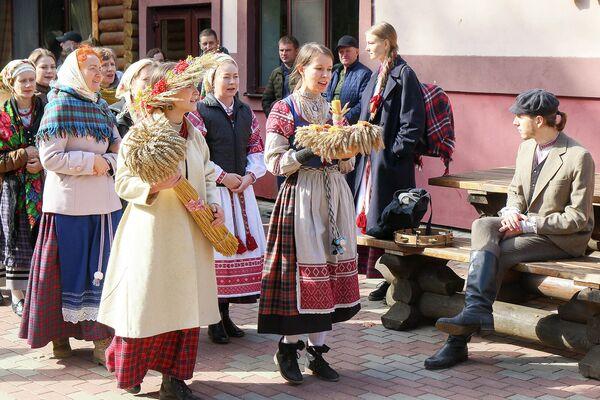 Продкі святкавалi Багач падчас восеньскага раўнадзенства. - Sputnik Беларусь