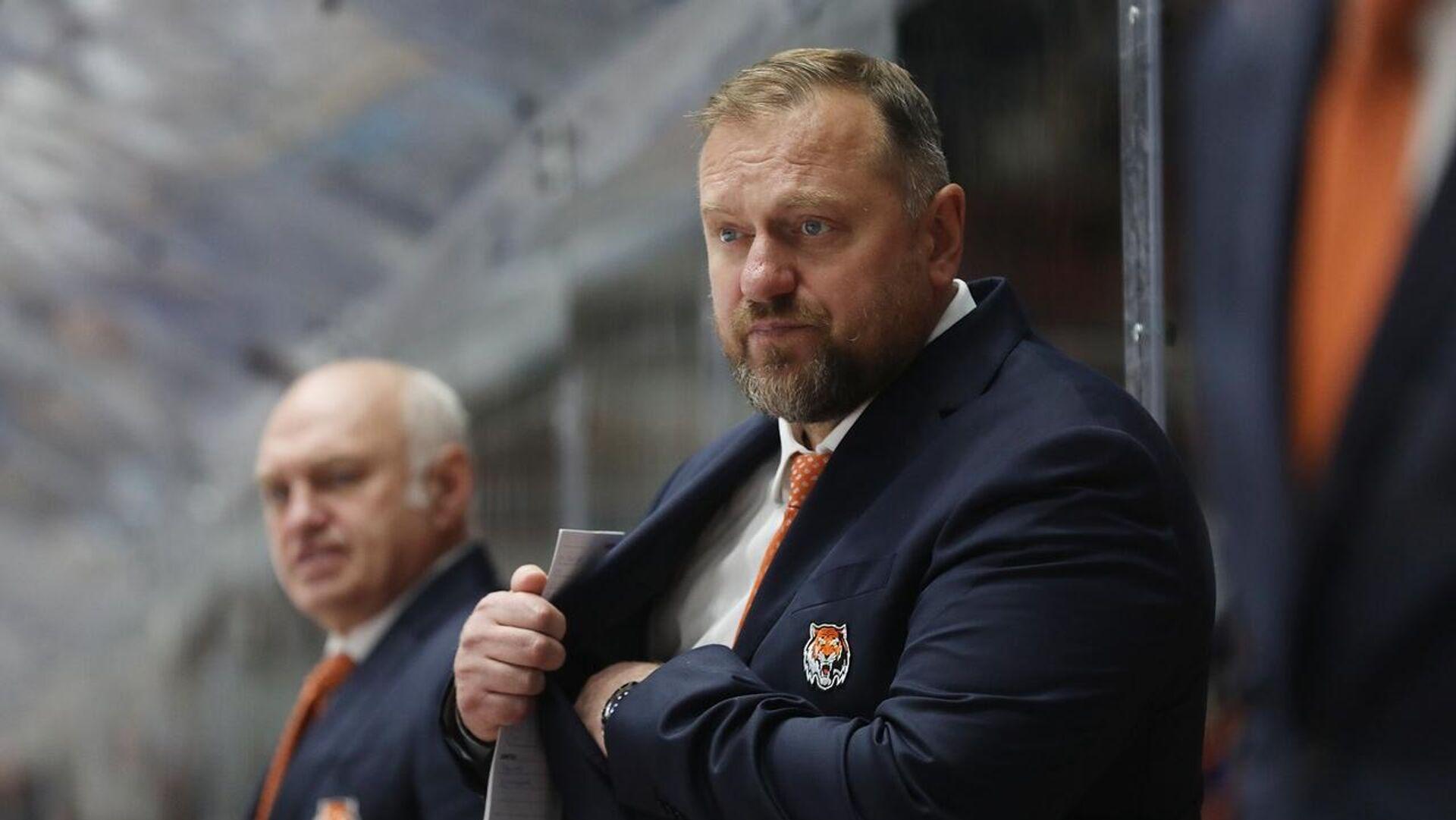 Хоккейный тренер Владимир Воробьев - Sputnik Беларусь, 1920, 27.09.2021