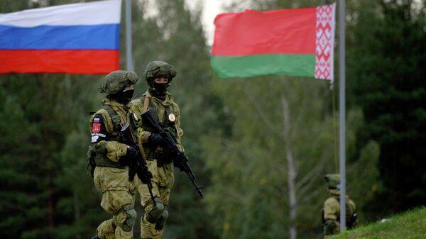 Российско-белорусские учения Запад - Sputnik Беларусь