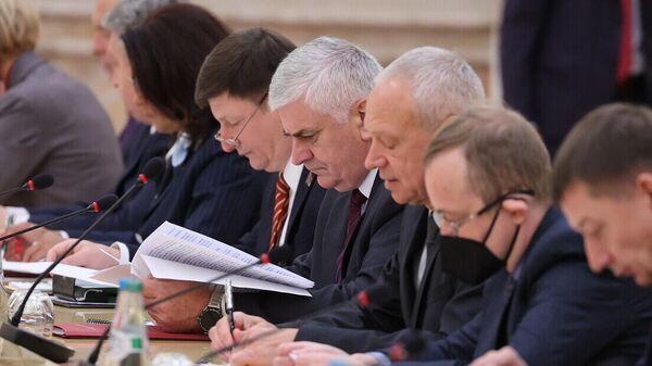 Пашыранае пасяджэнне Канстытуцыйнай камісіі - Sputnik Беларусь