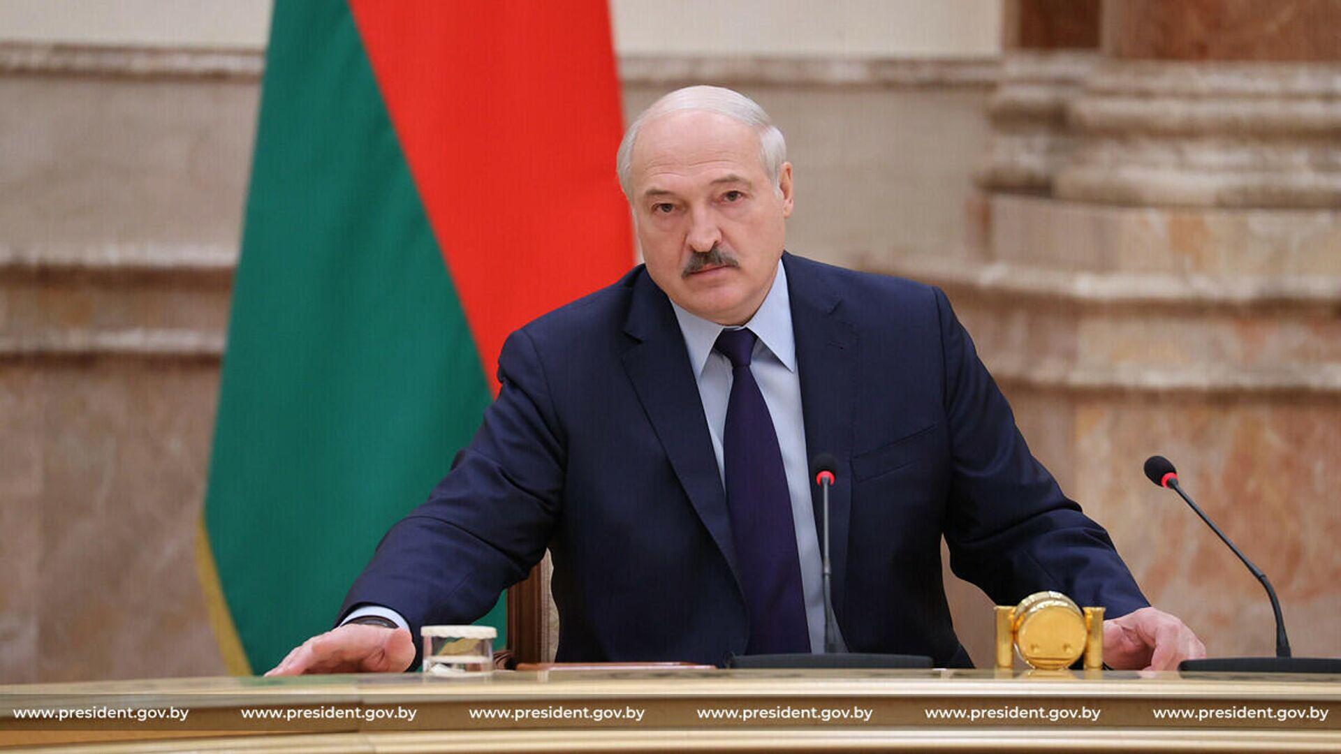 Президент Беларуси Александр Лукашенко - Sputnik Беларусь, 1920, 01.10.2021