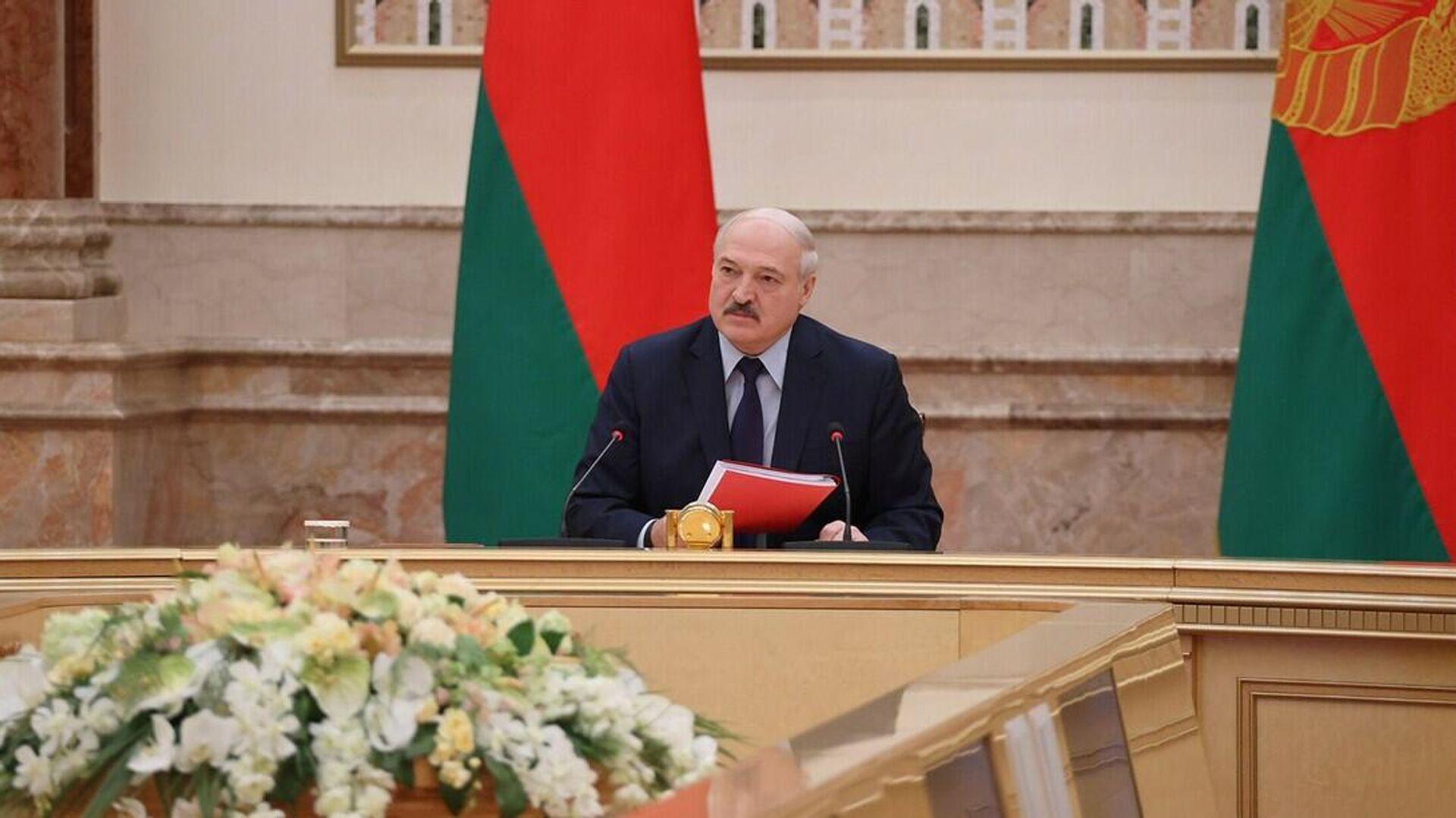 Лукашенко выступил за рассмотрение вопроса о смертной казни на референдуме  - Sputnik Беларусь, 1920, 28.09.2021