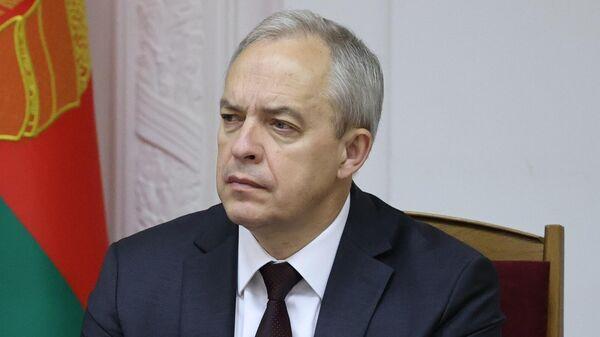 Кіраўнік адміністрацыі прэзідэнта Ігар Сяргеенка - Sputnik Беларусь