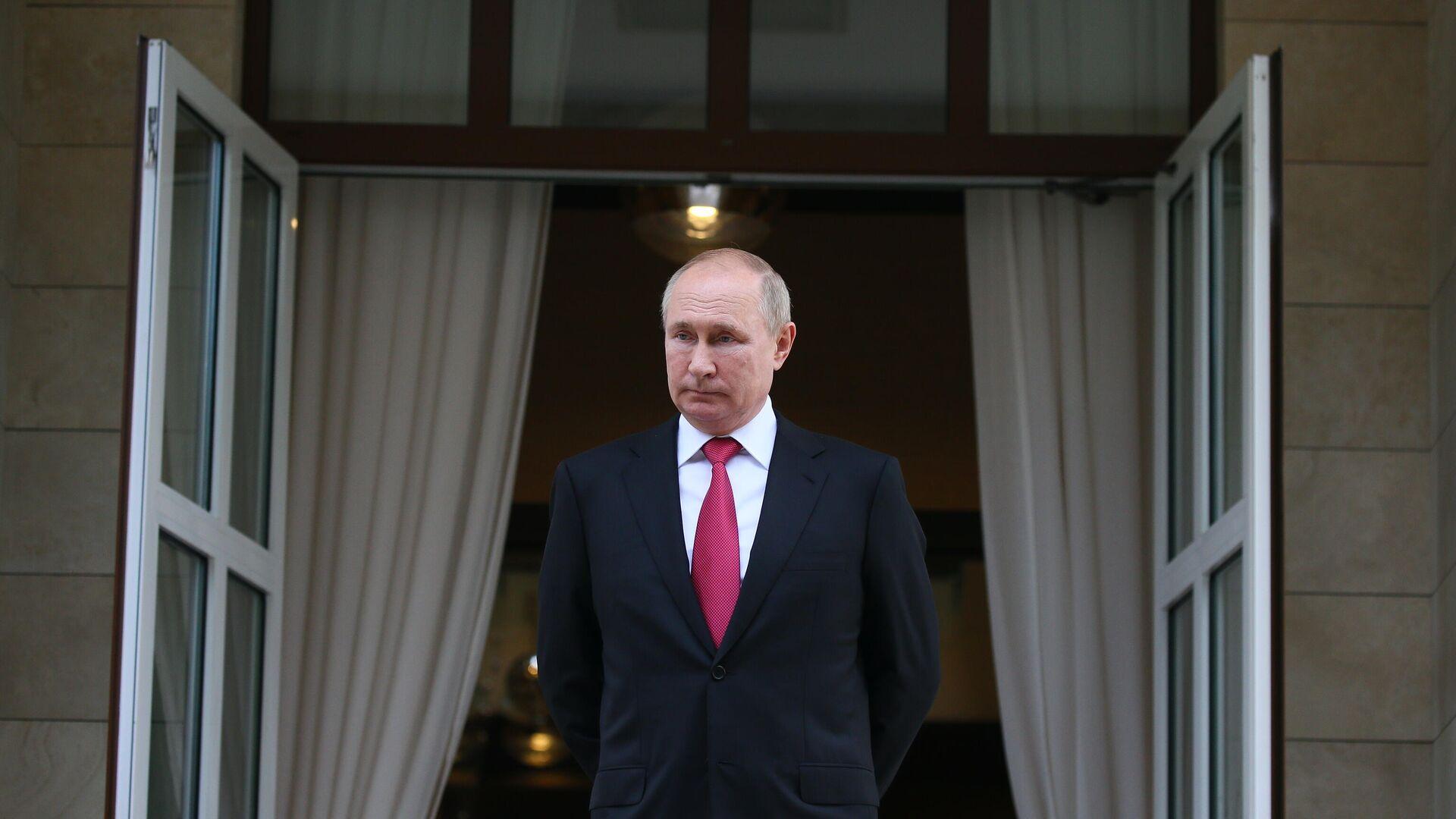Президент РФ Владимир Путин  - Sputnik Беларусь, 1920, 30.09.2021