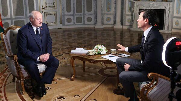 Прэзідэнт Беларусі Аляксандр Лукашэнка даў інтэрв'ю амерыканскай тэлекампаніі CNN - Sputnik Беларусь