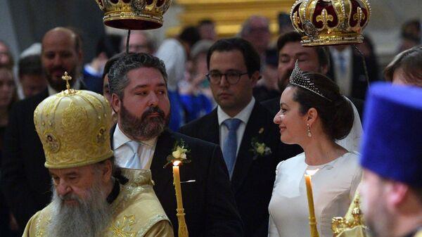 Великий князь Георгий Михайлович Романов и Ребекка Беттарини - Sputnik Беларусь