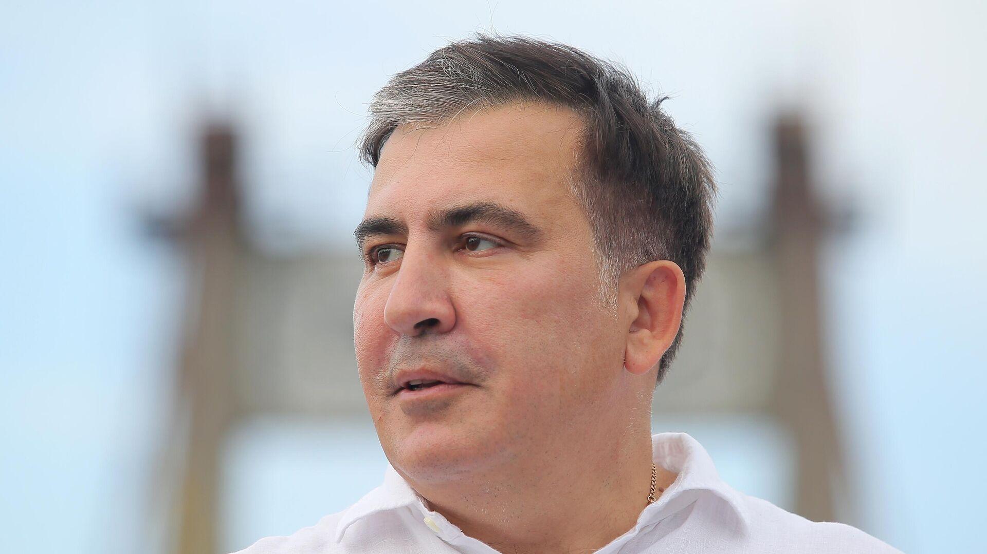 Бывший президент Грузии Михаил Саакашвили  - Sputnik Беларусь, 1920, 02.10.2021