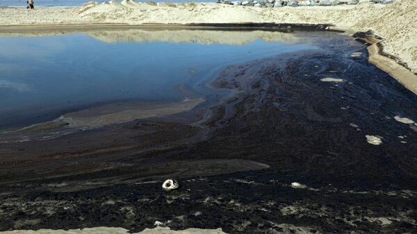 Катастрофа паблізу берагоў Лос-Анджэлеса: пагібельны разліў нафты - Sputnik Беларусь