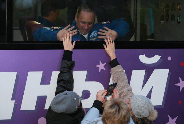 Командир экипажа российский космонавт Антон Шкаплеров три или четыре раза выйдет в открытый космос. - Sputnik Беларусь