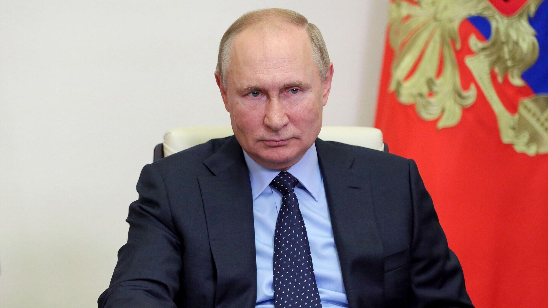 Президент РФ Владимир Путин - Sputnik Беларусь, 1920, 05.10.2021