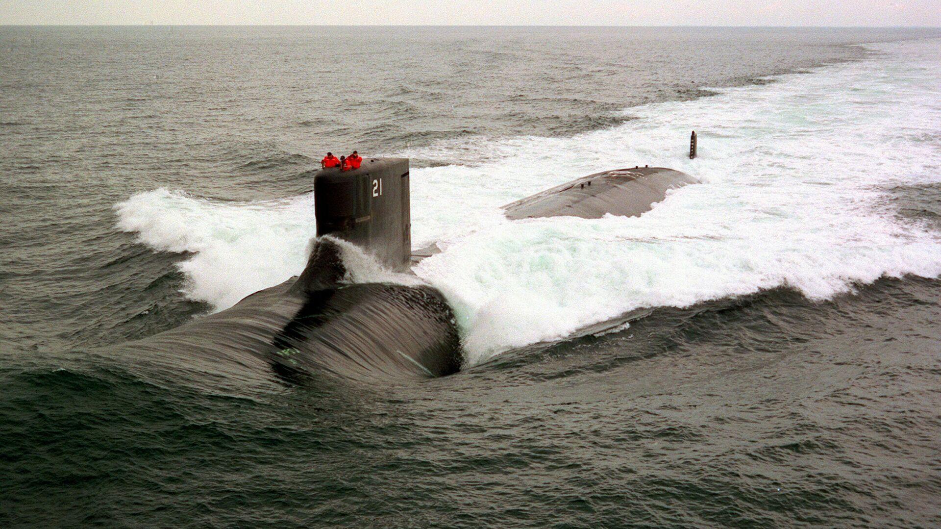 Подводная лодка ВМС США USS Seawolf - Sputnik Беларусь, 1920, 08.10.2021