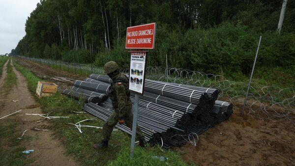 Ситуация на белорусско-польской границе - Sputnik Беларусь