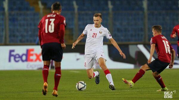 Матч сборных Беларуси и Чехии в отборе к ЧМ-2022 - Sputnik Беларусь