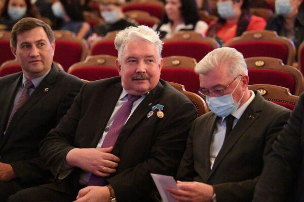 Максим  Рыженков, Сергей Бабурин и Валерий Малашко - Sputnik Беларусь