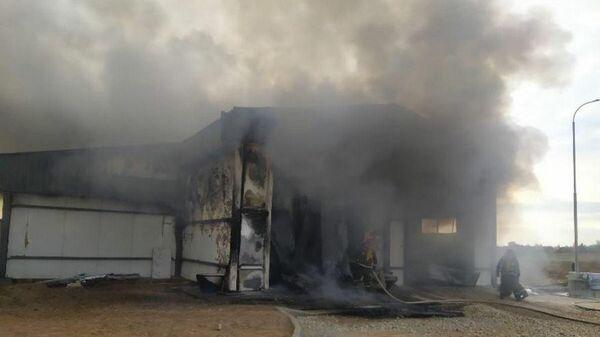 Мужчина погиб во время пожара на территории Витебской птицефабрики - Sputnik Беларусь