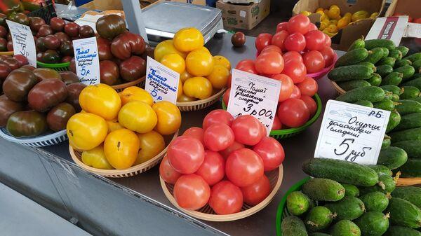 Овощи на Комаровке - Sputnik Беларусь