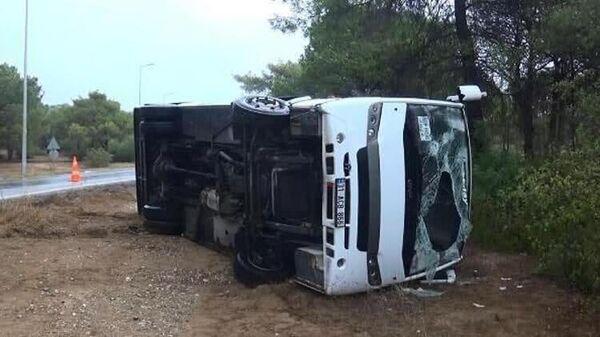 Российские туристы пострадали в ДТП с автобусом в Турции  - Sputnik Беларусь